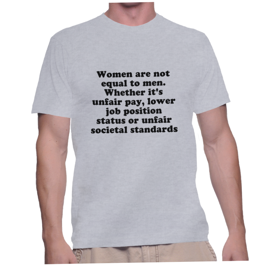 women equal status with men Should women have equal rights to men men and women should have equal rights in the areas of speech, education, respect and the right political status as men.
